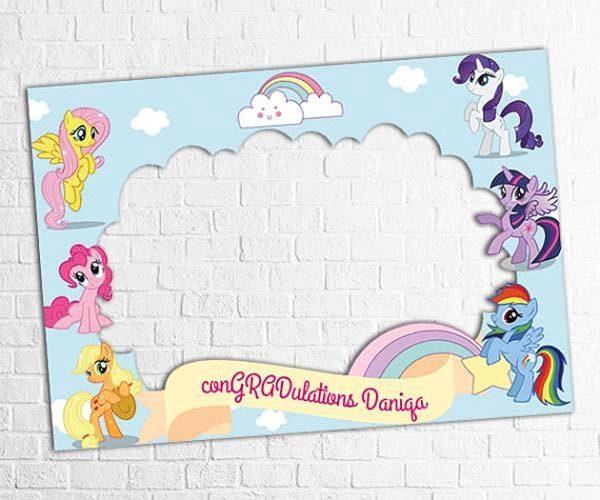 little-pony-Baby-Shower-Frame-2
