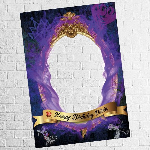 descendants theme photo frame design