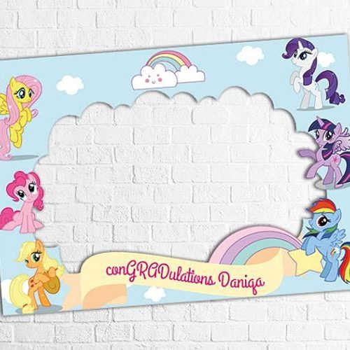little-pony-Baby-Shower-Frame-2