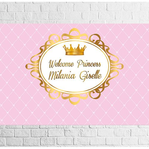 Little Princess Part Backdrop Design
